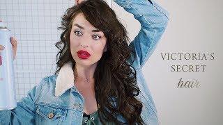 как накрутить объемные ЛОКОНЫ + прикорневой объем | кудри Victoria's Secret
