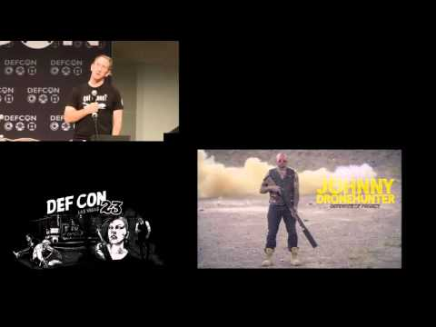 DEF CON 23 - Robinson and Mitchell - Knocking my neighbors kids cruddy drone offline