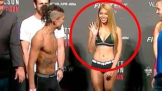 Top 10 Most Shocking Weigh In Moments In MMA History - Unbelievably Moments In UFC