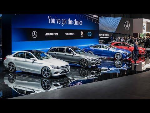 Mercedes Benz Cars at the Geneva Motor Show 2018 [ Highlight ]