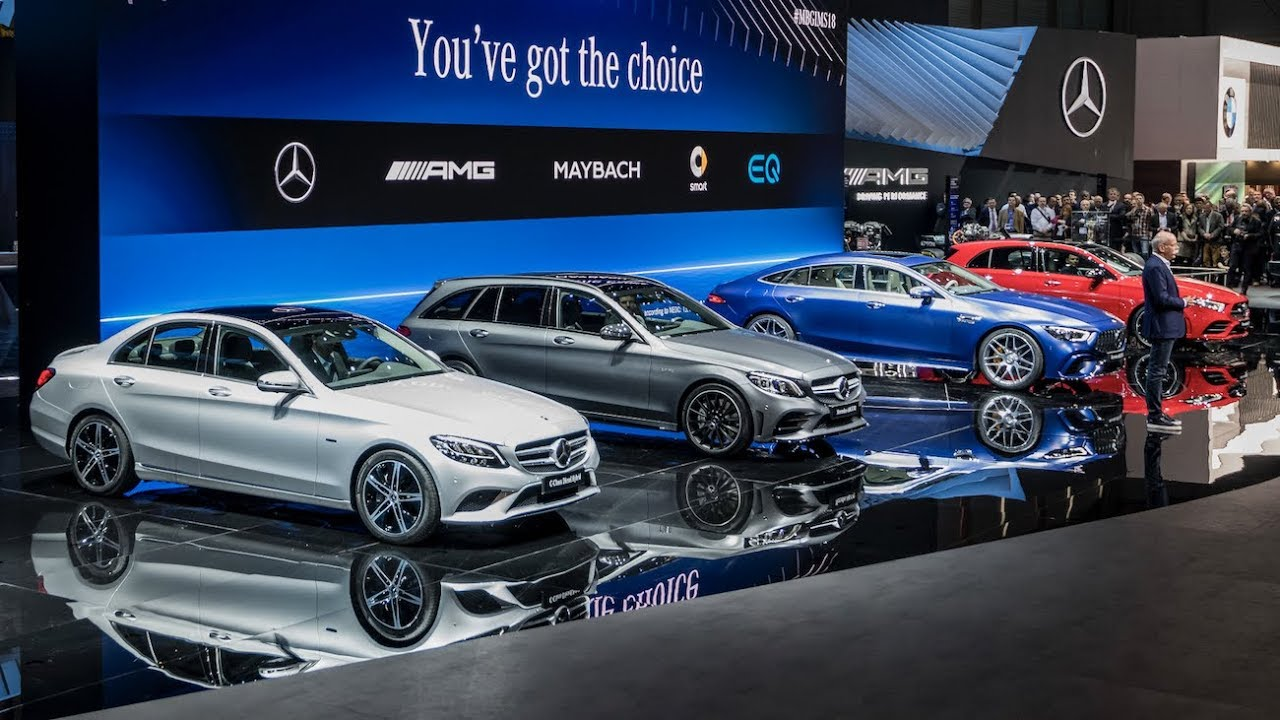 Mercedes Benz Cars At The Geneva Motor Show Highlight YouTube - Mercedes car show 2018