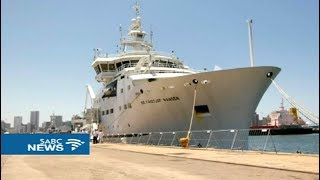 Dr Fridtjof Nansen Advanced RV makes its first port of call to Durban