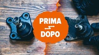 Sostituzione Pasticche freni FIAT PANDA - manutenzione trucchetti