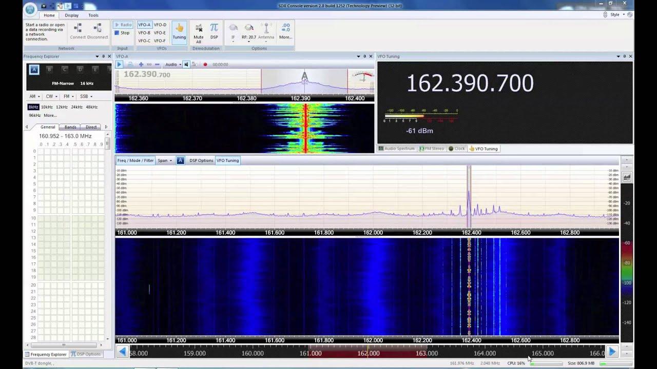 SDR-Radio com V2 0 Now Supports RTL2832U SDR | Ham Radio Science