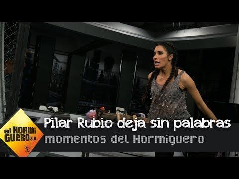Pilar Rubio deja sin palabras a Melendi en 'El Hormiguero 3.0' con 'El hachazo' - El Hormiguero 3.0