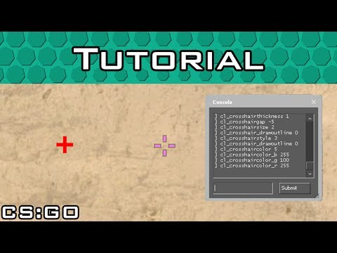 CS:GO Crosshair Configuration Tutorial