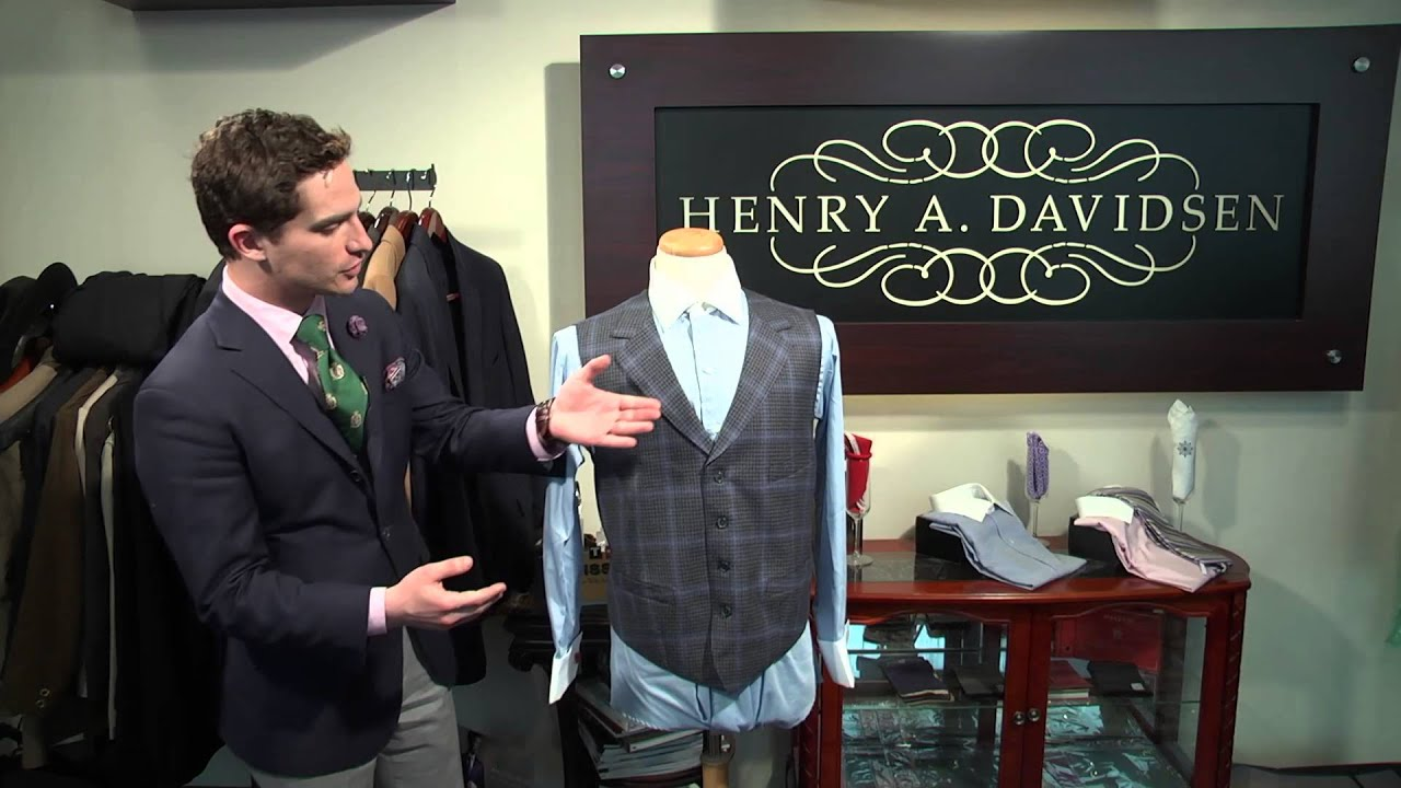4c38c8613410 How to Match Vests With Dress Shirts : Men's Fashions, Ties & Handkerchiefs