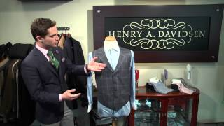 How to Match Vests With Dress Shirts : Men's Fashions, Ties & Handkerchiefs