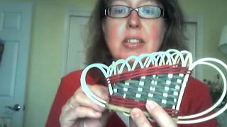 Basket Weaving - Miniature Christmas Sleigh