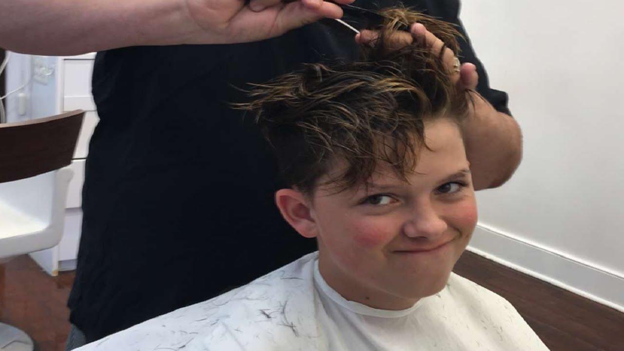 How Jacob Sartorius gets his Haircut!!!  YouTube