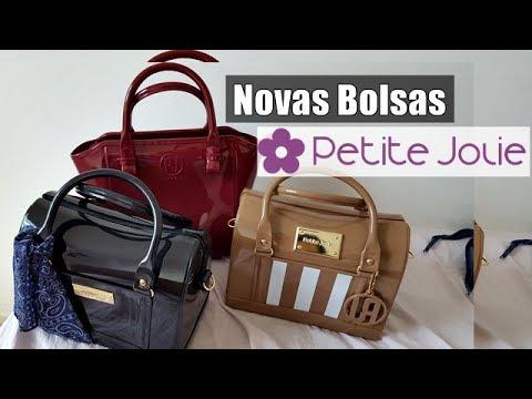 476a2fdc1 MINHAS BOLSAS PETITE JOLIE ❤ - YouTube