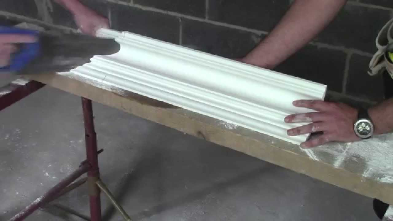Plaster Coving Installation How To Cut An External Mitre