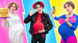 3 أنوع من الستات الحوامل/ مواقف حمل كل ست ممكن تتعرض لها.