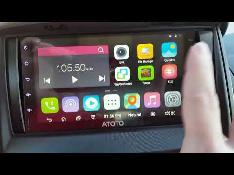 Best Android Radio Ever Cheap Price High Quality Working SiriusXM ATOTO A6
