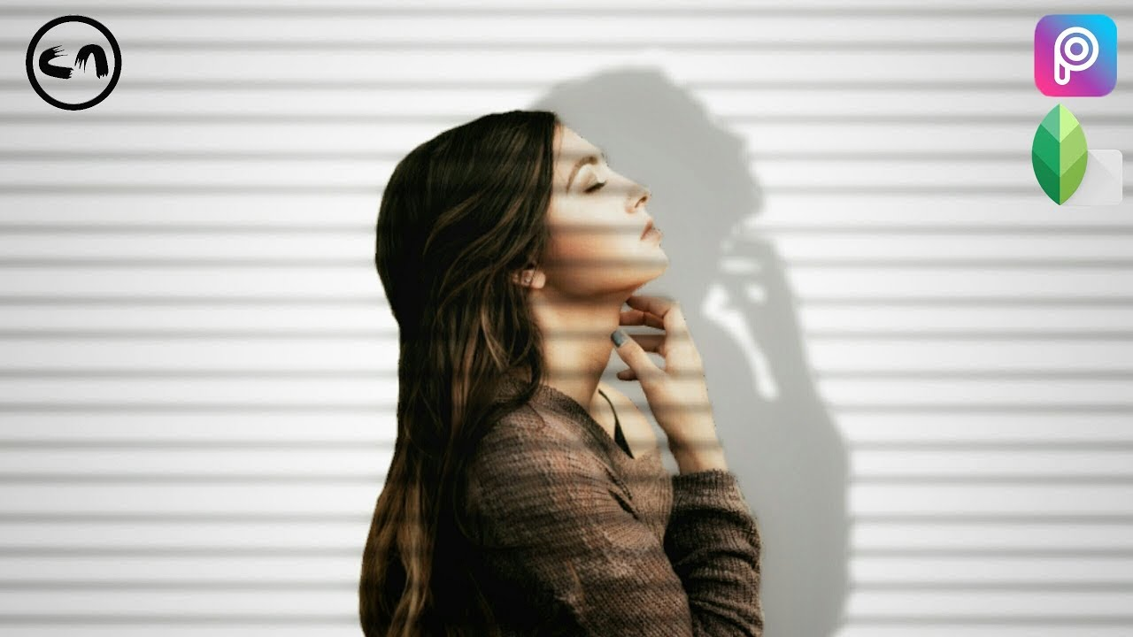 Picsart Tutorial Window Blinds Shadow Effect Youtube