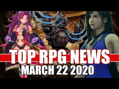 Top RPG News Of The Week - Mar 22, 2020 (FF7 Remake, Trials Of Mana, Deep Sky Derelicts)