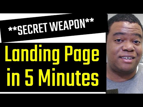 How To Create A High Converting Landing Page For Your WordPress Website (In 5 Minutes)