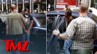 DJ Whoo Kid -- Cuffed On The Job ... Busted Over Child Support