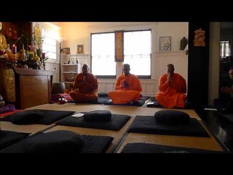 Buddhist chanting in Pali