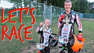 🚴What BMX RACING is all about | A Night at the RACES With a LARGE FAMILY