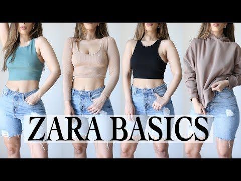 ZARA BASICS HAUL SPRING 2020