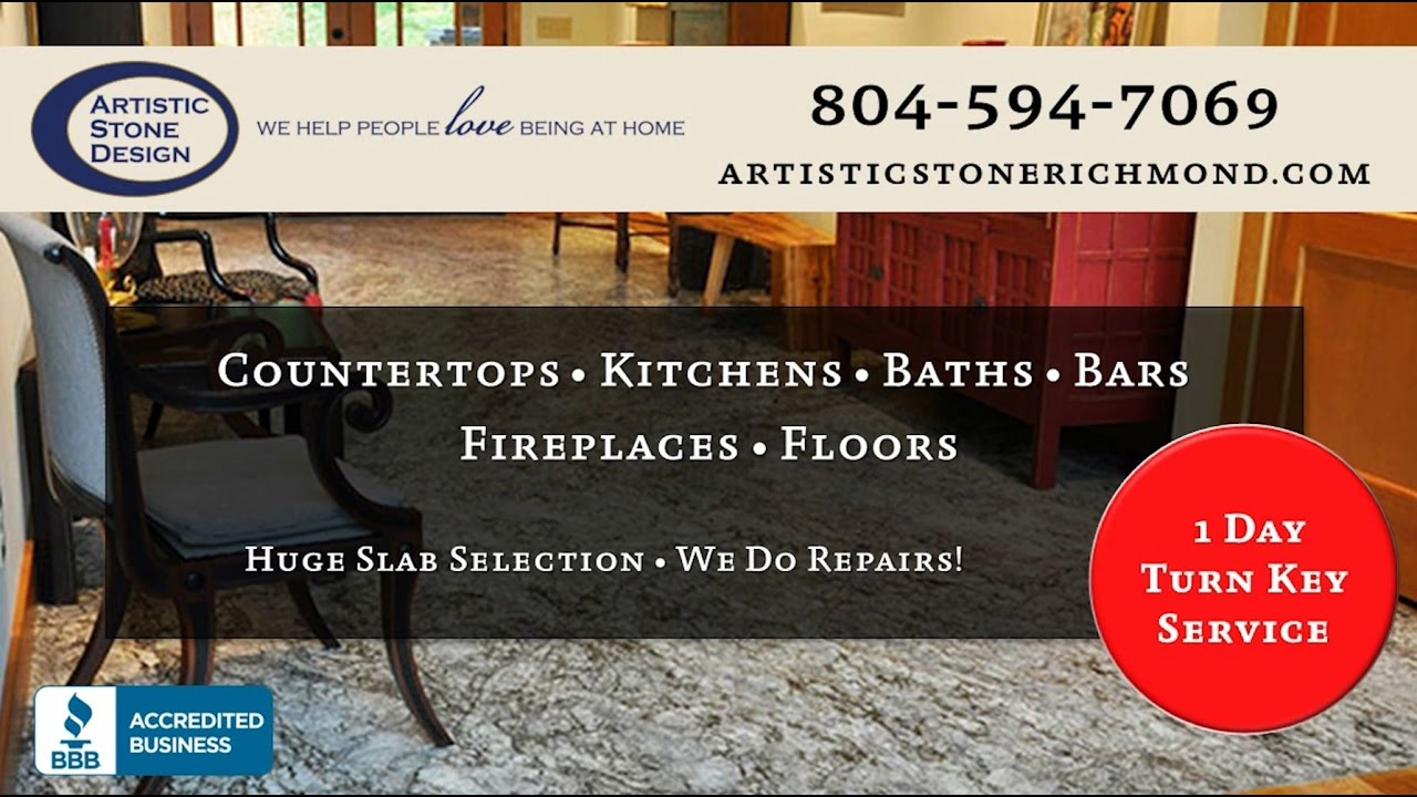Artistic Stone Design Inc Richmond Va Counter Tops Youtube