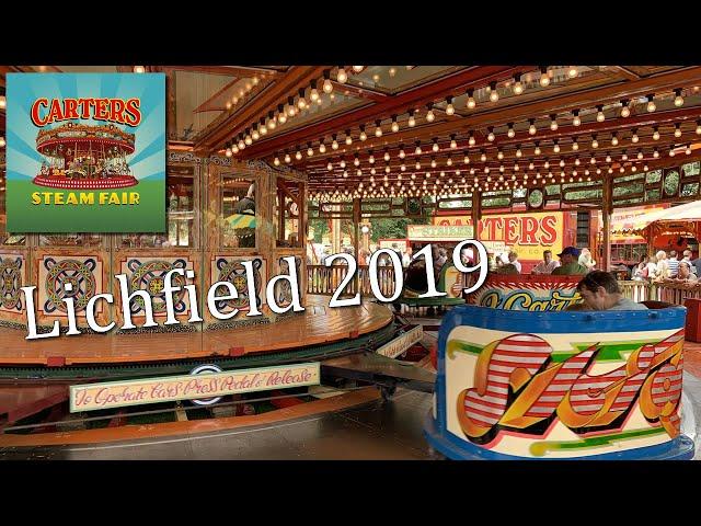 AMAZING! Carters Steam Fair - Lichfield 2019 (With original audio)