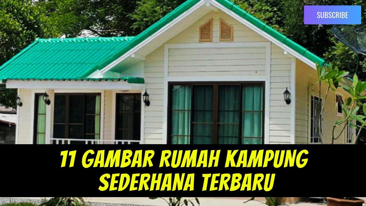 9 Gambar Rumah Kampung Sederhana Terlihat Klasik Desain Rumah Kampung Model Rumah Kampung Youtube