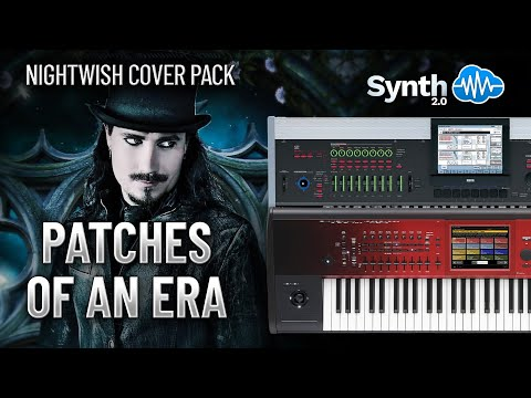 NIGHTWISH COVER PACK - PATCHES OF AN ERA | KORG KRONOS / OASYS