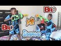 Siah And DJ Are BROTHERS!! NERF BATTLE!! - YouTube