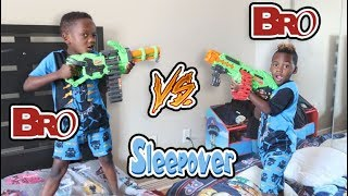 Siah And DJ Are BROTHERS!! NERF BATTLE!!