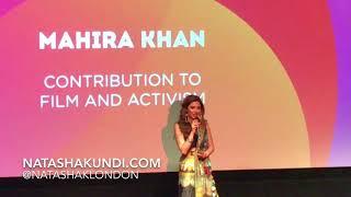 Mahira Khan Awarded At UK Asian Film Festival