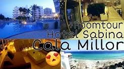 Ich zeige euch unser LUXUS HOTEL + ROOMTOUR! | Hotel Sabina Cala Millor