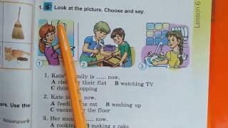 Английська мова 4-клас. Несвит. Ст. 36-37