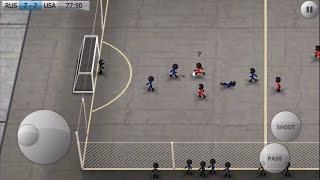 Stickman Soccer iPhone Gameplay #2