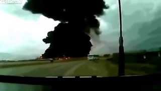 Авиакатастрофа Boeing747 под Кабулом. Afghanistan air crash(29 апреля 2013 года. Момент столкновения лайнера с землей попал в поле зрения камеры видеорегистратора. В авиа..., 2013-05-03T03:53:26.000Z)