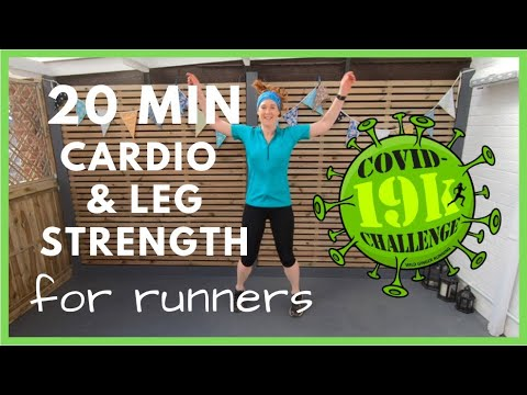 Home Workout - Leg Strength & Cardio for Runners (and Hillwalkers)