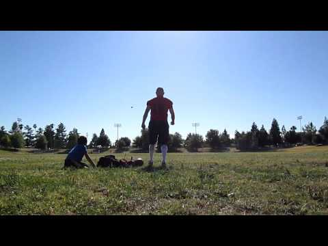 PUNTING PRACTICE FOR JAMES DURAN(SW COYOTES)