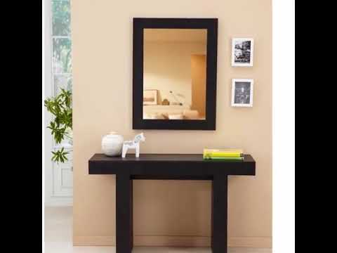 console tables with mirror YouTube