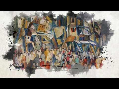 Artist painter and poet Joseph Matar Art Exhibition