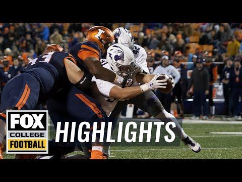 Northwestern vs Illinois | Highlights | FOX COLLEGE FOOTBALL