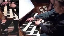 Thomas Lacôte Etude de transparence pour orgue à 4 mains (2015)