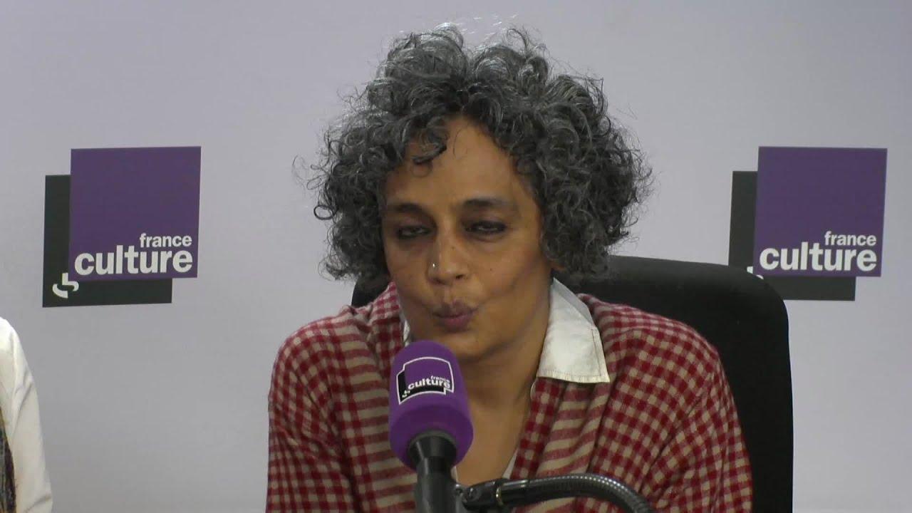 Arundhati Roy, invitée de La Grande Table - YouTube