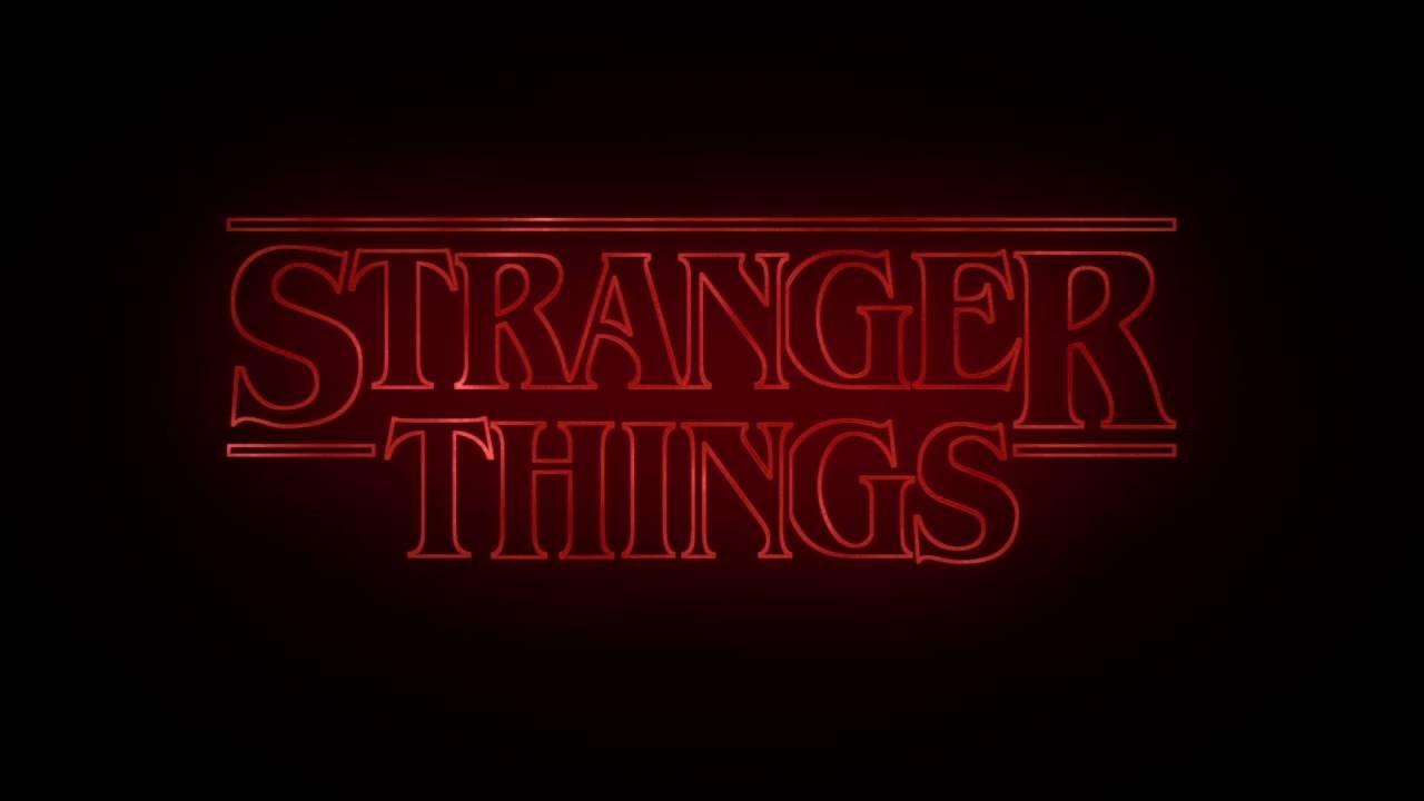 Stranger Things Main Logo Youtube