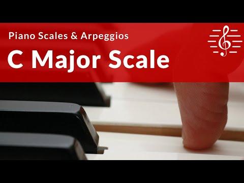 Grade 1 Piano Scales & Broken Chords - C Major Scale
