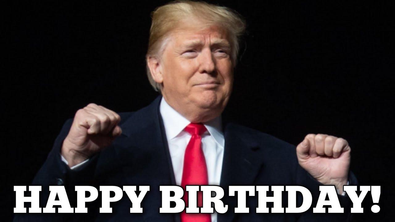 Trump Sings Happy Birthday Youtube