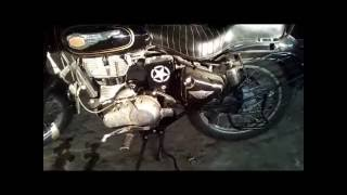 Royal Enfield frame chesis crack   problem  video hindi me