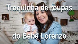 Apresentando e Trocando o Bebê Lorenzo - Kit Saskia by Bonnie Brown