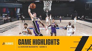 HIGHLIGHTS   Los Angeles Lakers Vs Denver Nuggets
