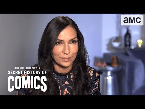 Famke Janssen on XMen  Robert Kirkman's Secret History of Comics
